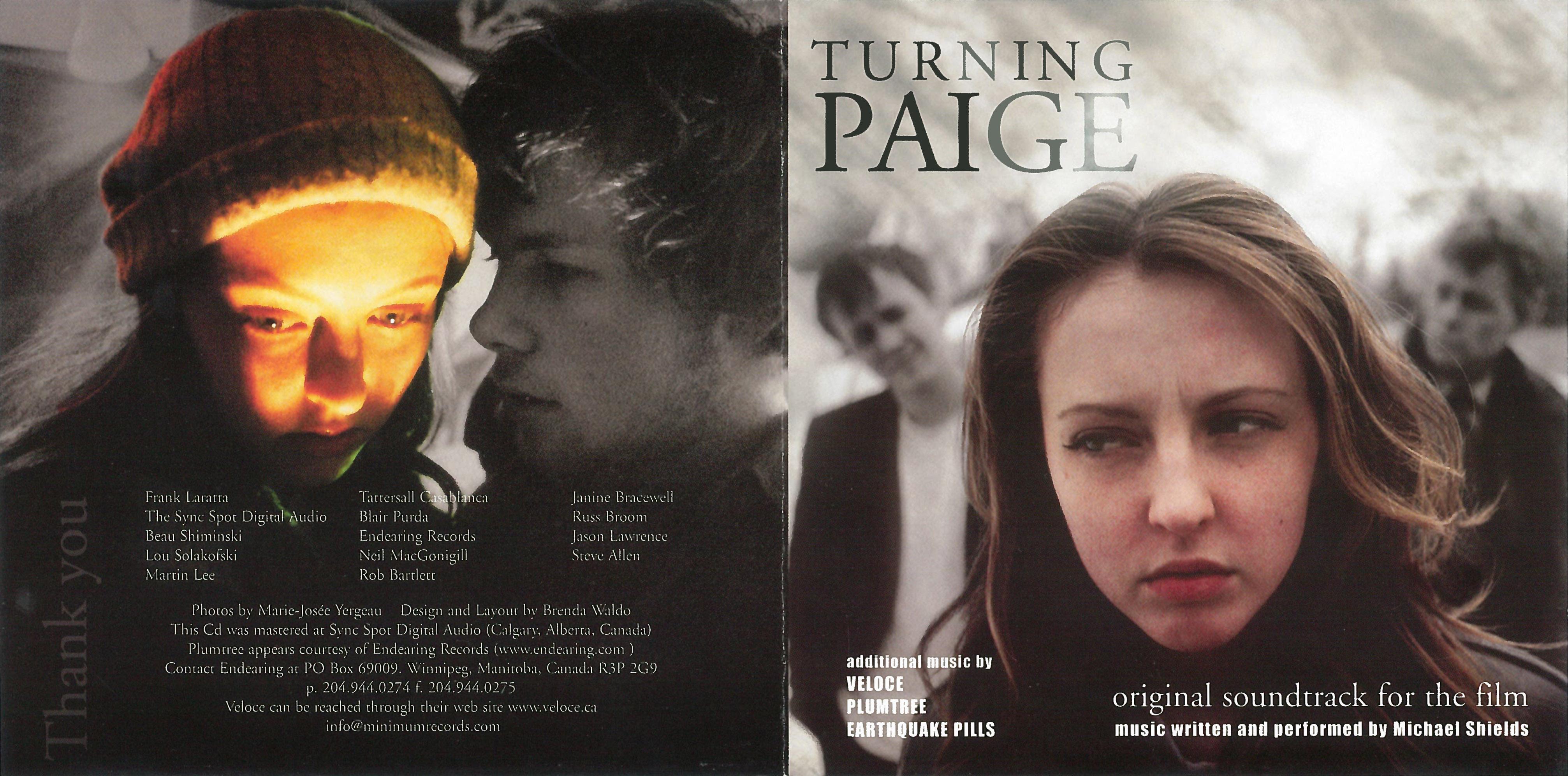 Turning Paige - Soundtrack